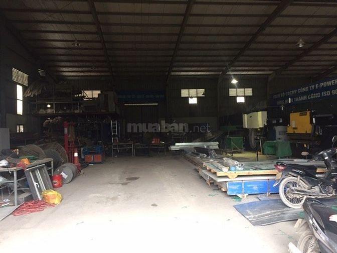 Cho thuê kho xưởng 800m2 tại Từ Liêm, Hà Nội