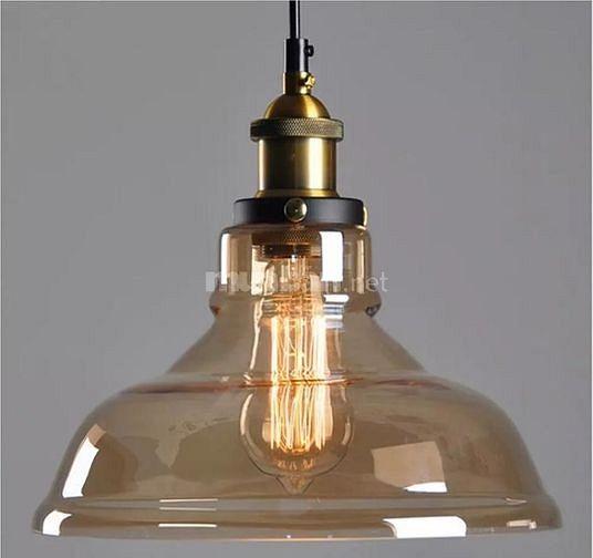 Đèn thả trần chao thủy tinh D2 phi 280cm -325k