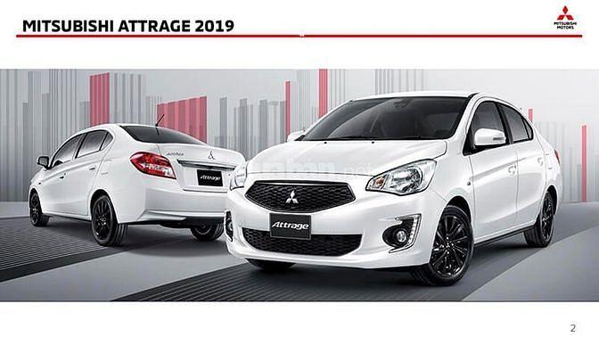 Mitsubishi Attrage 2019,xe nhập,góp 80%xe,4l/100km,siêu rẻ