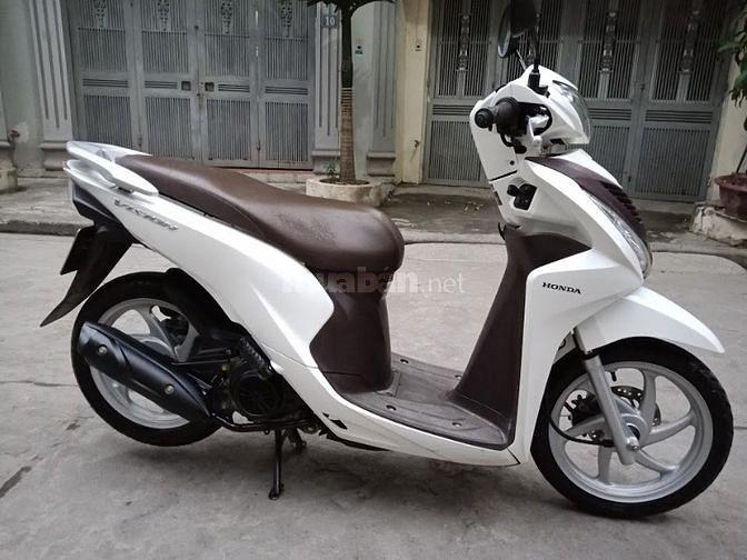 Honda Vision màu trắng nữ công chức dùng-218