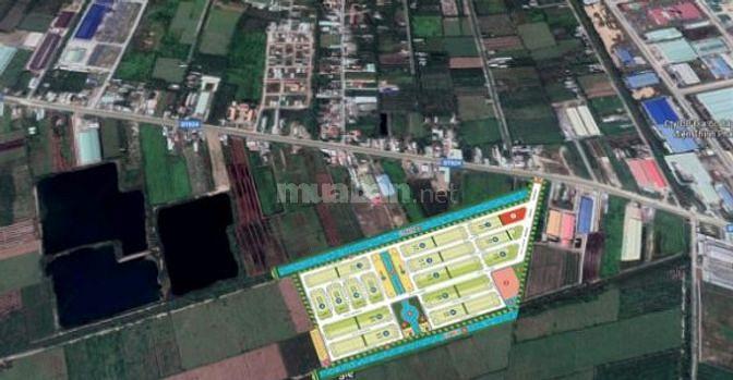 Bán gấp đất nền thổ cư Lago Centro, sổ đỏ riêng, mặt tiền đường lớn