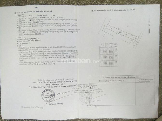 Bán đất đã có xưởng 430m, MT đường Kinh A, LM Xuân, Bình chánh, 6,8 tỷ