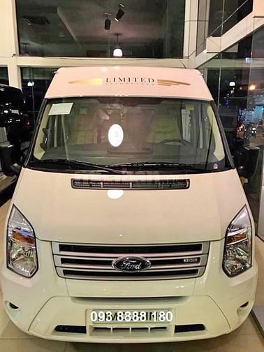 Ford Transit 2019. Hỗ trợ vay 75%. Xe giao ngay.