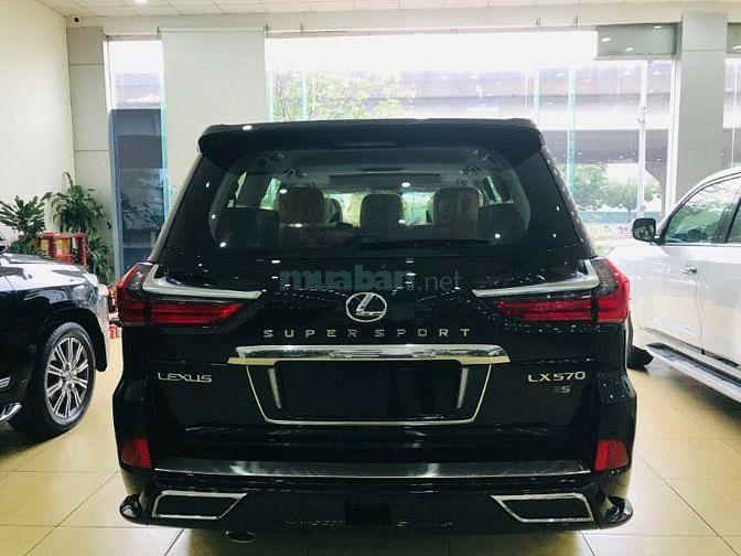 Bán Lexus LX570 Super Sport màu đen,sản xuất 2019 ,xe giao ngay.