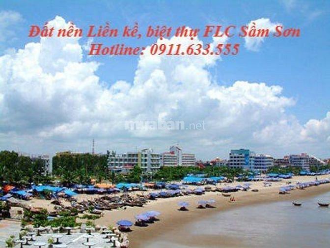 Bán đất nền liền kề FLC Sầm Sơn, mặt đường Thanh Niên
