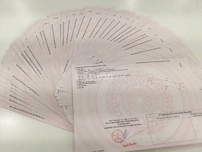 Hưng Thịnh mở bán 1000 nền đất sổ hồng ngay Tp Vĩnh Long