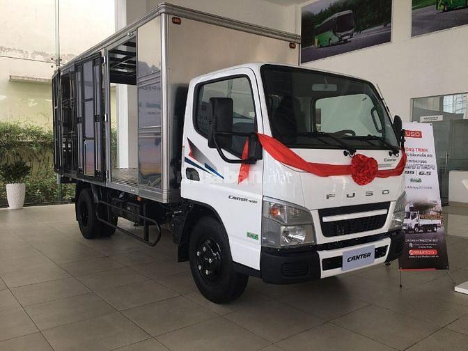 Bán xe tải Mitsubishi 1.9 tấn, thùng dài 4.35m, máy Mitsubishi Nhật