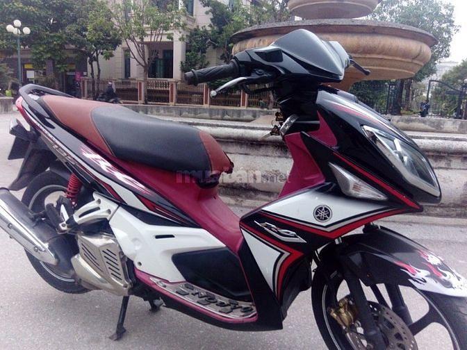 Yamaha Nouvo LX 135 RC trắng đỏ đăng ký 2013
