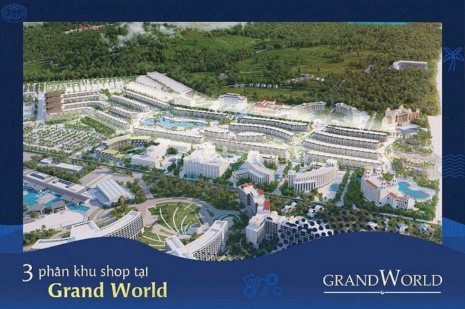 Bán căn hộ Condotel dự án Vinpearl Grand Worl Phú Quốc, chỉ 1,8 tỷ/căn