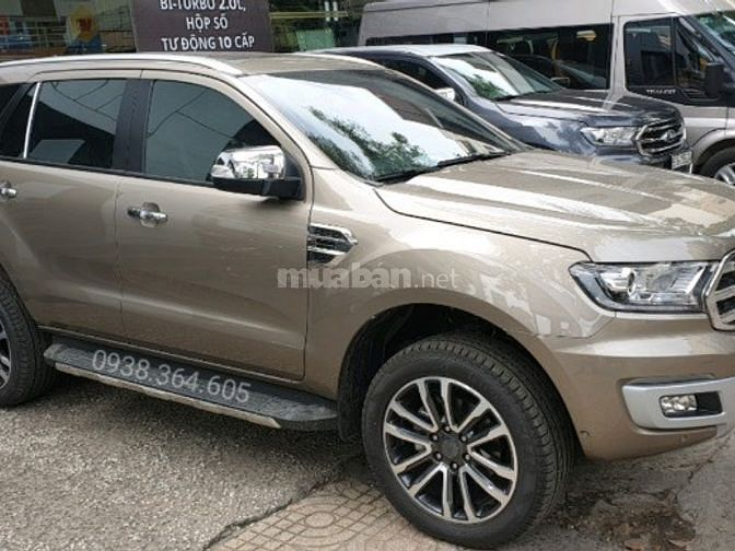 Ford Everest 2.0 Bi-Turbo 4WD - Giao ngay