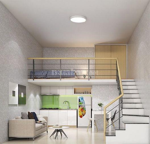 Bán căn 1 trệt 1 lửng dt 4x8, pháp lý đầy đủ, nhà mới, đầy đủ nội thất