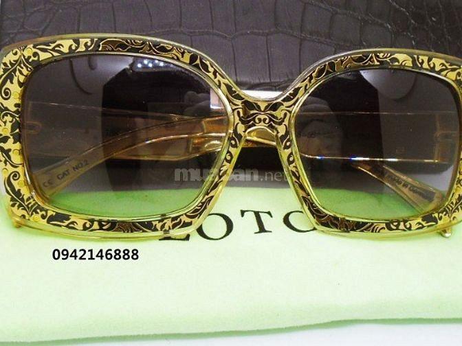 Kính Lotos gold ( mạ vàng 18k )- Authentic