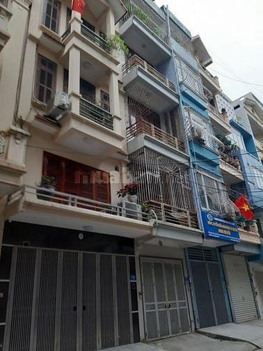 Nhà ngõ 12 phố Trần Quốc Hoàn - DT 60m2 x 5 tầng , đường rộng để ôt