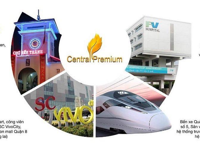 Officetel đầu tư cực tốt tại dự án Central Premium, giá chỉ từ 1ty4