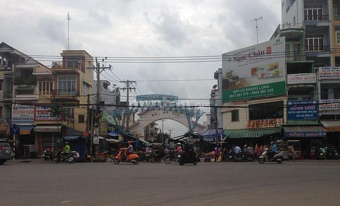 Bán đất 5mx48m, MTNB Hùng Vương đối diện Massa Hồng Đào, chợ Gò Dầu