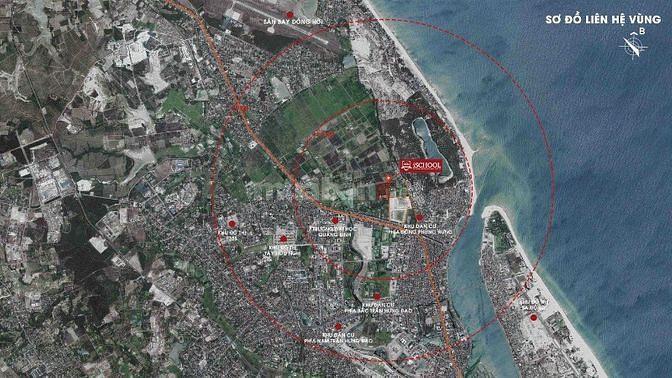 Bán đất TTTP Đồng Hới Quảng Bình chỉ 15 triệu/m2