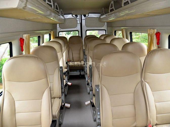 Xe du lịch 16 chỗ dáng Hyundai Solati hỗ trợ trả góp 80% giá trị xe