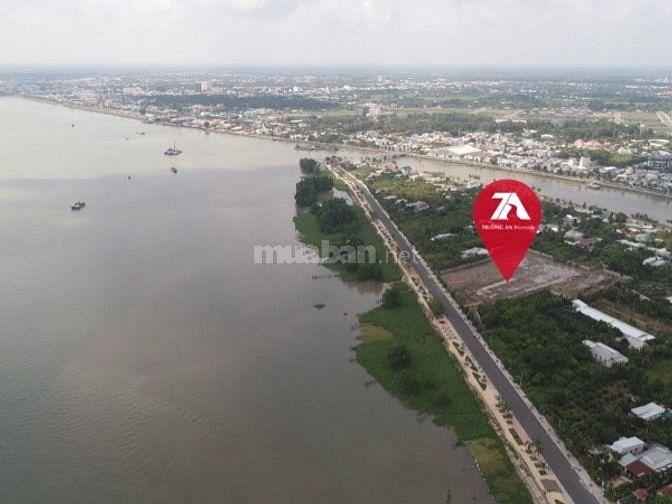 Bán lô đất thổ cư mặt tiền sông Cổ Chiên, xã Trường An, Tp Vĩnh Long