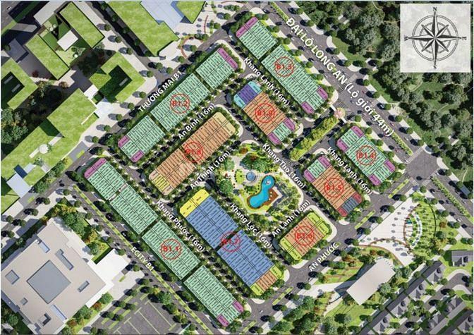E.city Tân Đức, chỉ chờ khách ghé mua