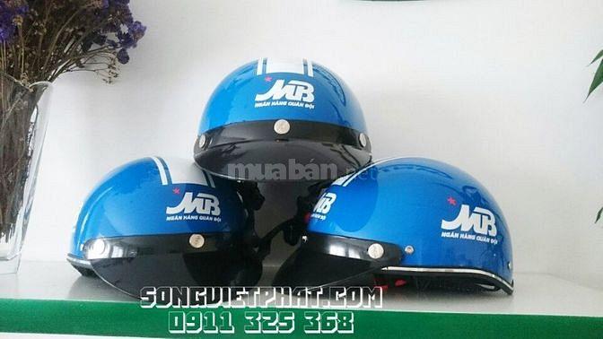In mũ bảo hiểm quảng cáo giá rẻ tại Hà Tĩnh