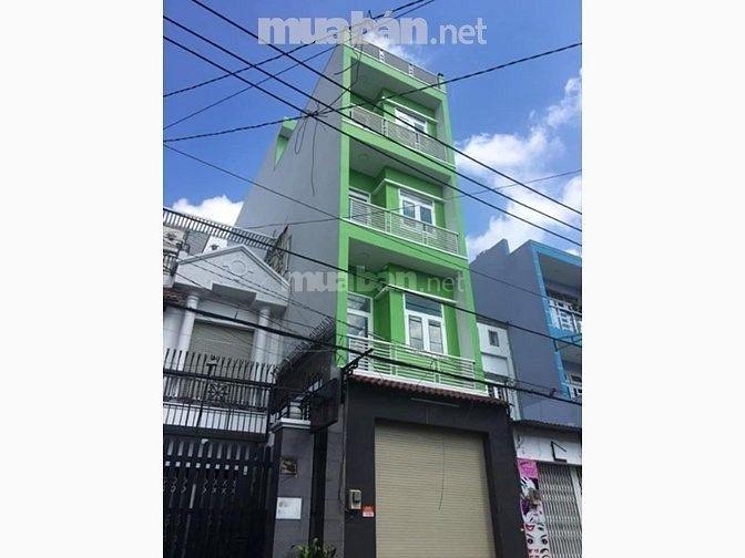 Cho thuê 14 CHDV + MTKD 5 tầng thang máy Võ Thị Sáu Q1 = 5,500$/tháng