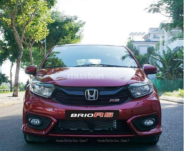 Xe Honda Brio Rs Đỏ giao ngay, Tặng bảo hiểm và phụ kiện