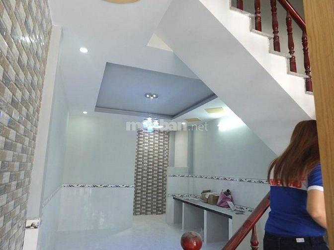 Nhà 1 trệt 1 lầu chưa sử dụng ngay gần KCN Phước Đông