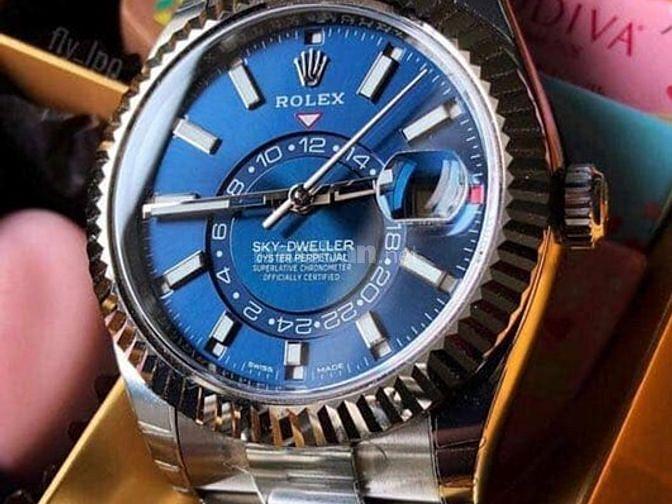 Đồng hồ rolex cơ cao cấp lịch sự sang trọng