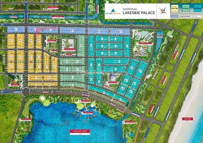 Bán nhanh lô Lakesider giá đầu tư rẻ nhất dự án Liên Chiểu - Đà Nẵng.