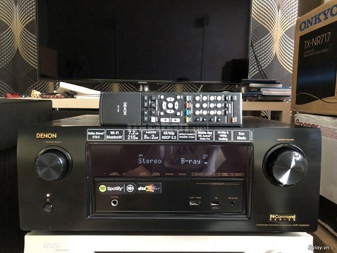 denon AVR-X3200W ( dts X - wifi - bluetooth - 3D - 4K - dollby atmos -