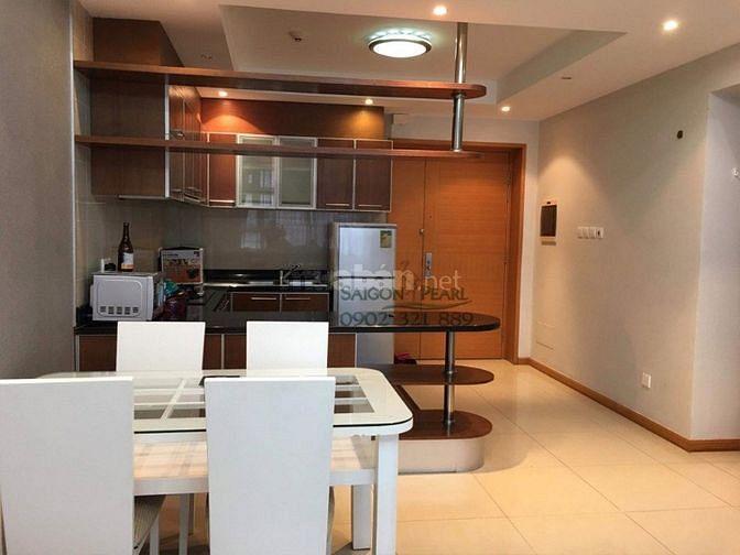 Cho thuê chung cư Saigon Pearl 2pn 2wc tầng 17.