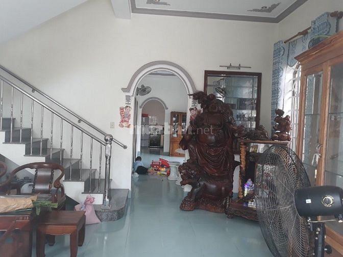 Nhà 2 lầu 1 trệt mặt tiền Ngô Chí Quốc, Phú Cường, Gần chợ Bình Dương