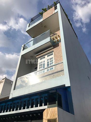 Bán 2 căn nhà liền kề mới đẹp hẻm 10m đường Lý Thường Kiệt, P.9.