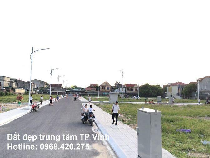 Đất đẹp trung tâm TP Vinh: Giá chỉ từ 13 triệu/m2, sinh lời vượt trội