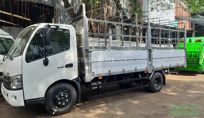 Bán xe tải Hino thùng mui bạt nhôm Tải 3.4 Tấn mới 100%