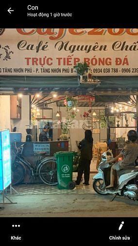 Bán nhà mặt tiền Số 191 Tăng Nhơn Phú B, Q.9, đối diện Dệt Phong Phú