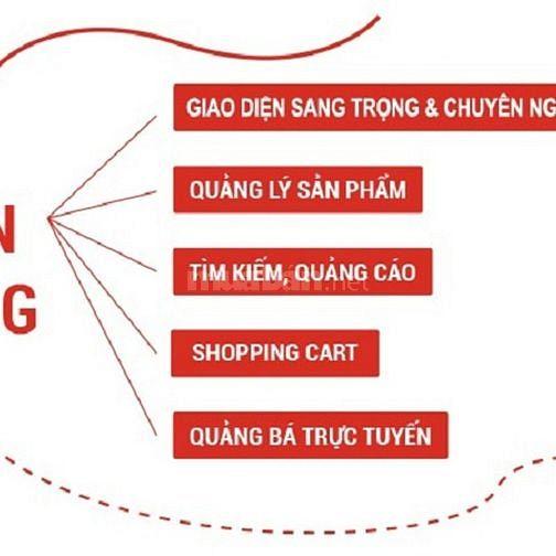Thiết kế website bán hàng giá rẻ tại Tphcm