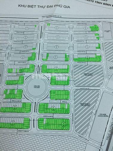 Cần bán lô đất khu  An Phú Thịnh đối điện Đại Phú Gia, 114 m2.,