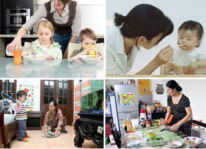 Gia Đình Cần 1 Người Chăm Bé 1 Người Giúp Việc Nhà 1 Người Chăm Bà Ốm