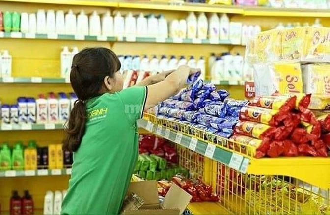 Tuyển nhân viên bán hàng siêu thị mini