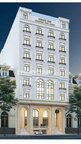 Bán tòa khách sạn 10 tầng khu Nguyễn Thị Định.... 210 tỷ