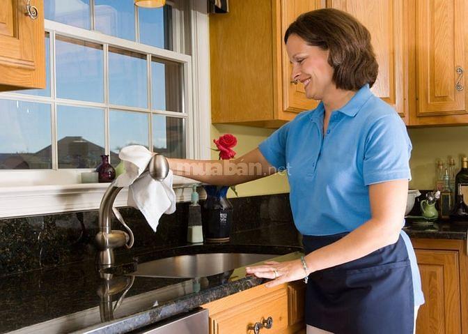 Cần người giúp việc lâu dài cho gia đình vì cô giúp việc vừa nghỉ