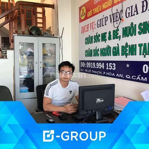 Tuyển nữ giúp việc Ở TP  _ Đà Nẵng