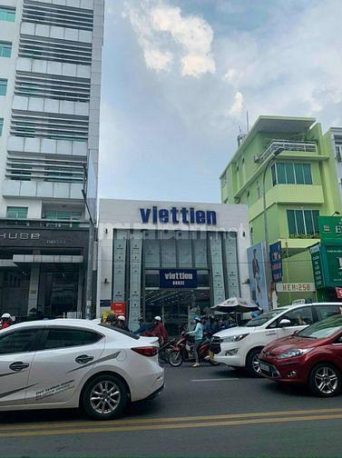 Cho thuê nhà góc 2MT 260A Phan Đình Phùng, Phú Nhuận. DT: 9x21 1 lửng