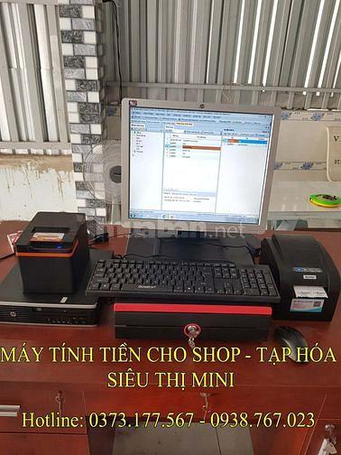 Lắp máy tính tiền trọn bộ cho shop tại Cần Thơ