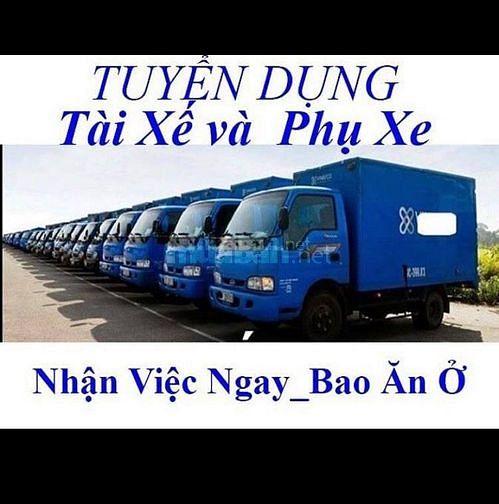 TIỀN GIANG : Tuyển 30 Nam LDPT theo Lơ xe & Phụ kho bao ăn ở