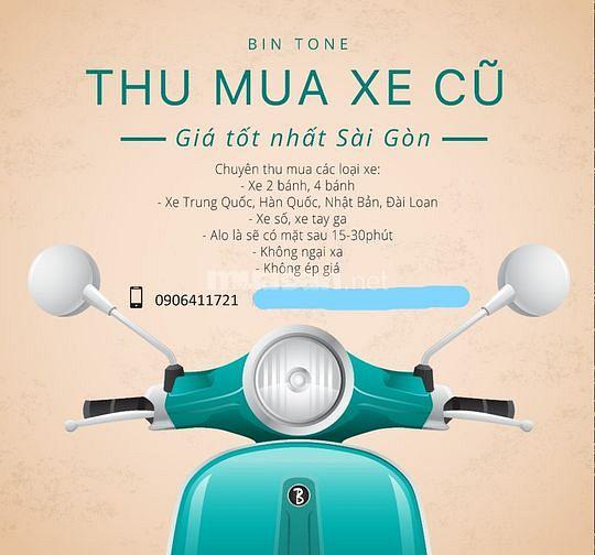 Thu mua oto - Xe máy - Xe điện cũ giá tốt nhất TpHCM
