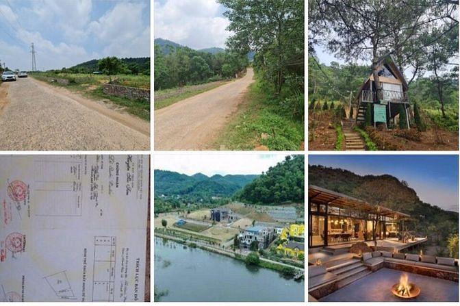 Cần bán 2 mảnh đất diện tích 1120m2 và 680m2  ở khu du lịch hồ Đồng Đò
