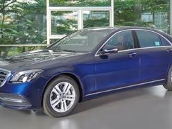 Bán xe Mercedes-Benz S450L màu xanh siêu lướt, giá 3.899 tỷ, Quận 7