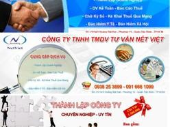 Công Ty Tư Vấn Nét Việt chuyên: Thành lập Cty, Thiết lập HS khai thuế